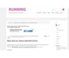 NUEVA RED SOCIAL PARA DEPORTISTAS TOTALMENTE GRATUITA