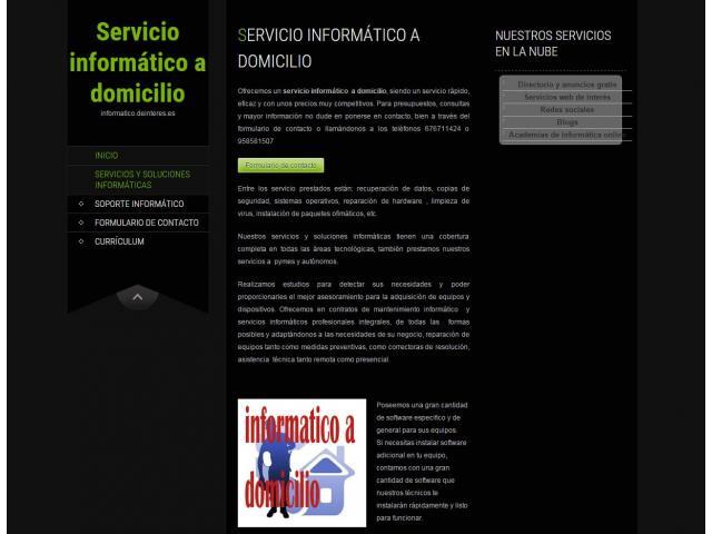 SERVICIO INFORMÁTICO A DOMICILIO