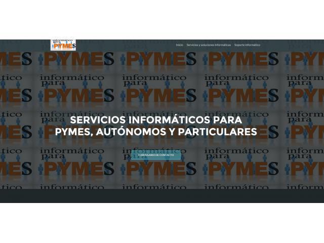 SERVICIOS INFORMÁTICOS PARA PYMES, AUTÓNOMOS Y PARTICULARES