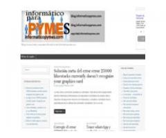 Blog con soluciones informáticas
